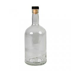 "Бутылки ""Домашний Самогон"" 0,7 л (9 шт.) с пробками"